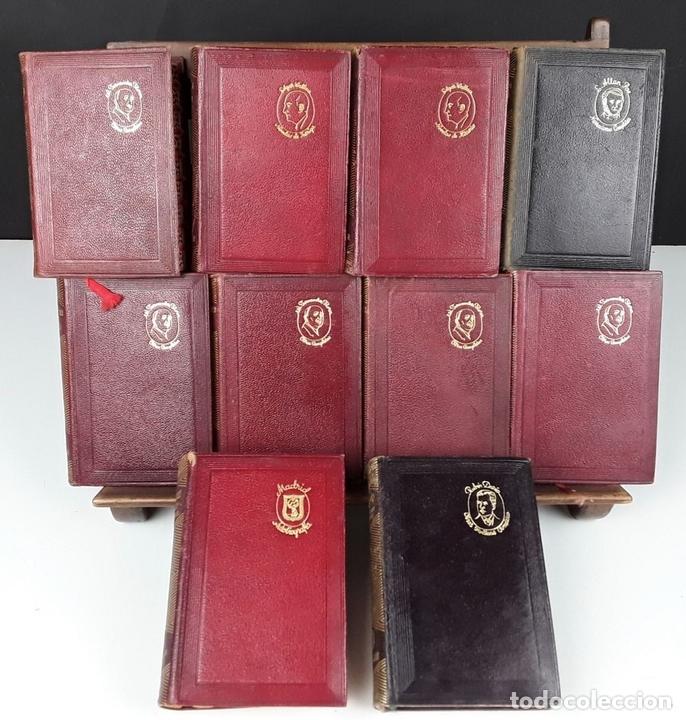 Libros de segunda mano: EDITORIAL AGUILAR. 10 EJEMPLARES. VARIOS AUTORES.1949/1951. - Foto 2 - 151070904