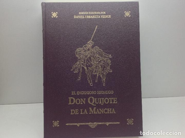 Libros de segunda mano: DON QUIJOTE DE LA MANCHA - EDICION ILUSTRADA POR DANIEL URRABIETA VIERGE 2° EDICION 2005 - Foto 2 - 105935547