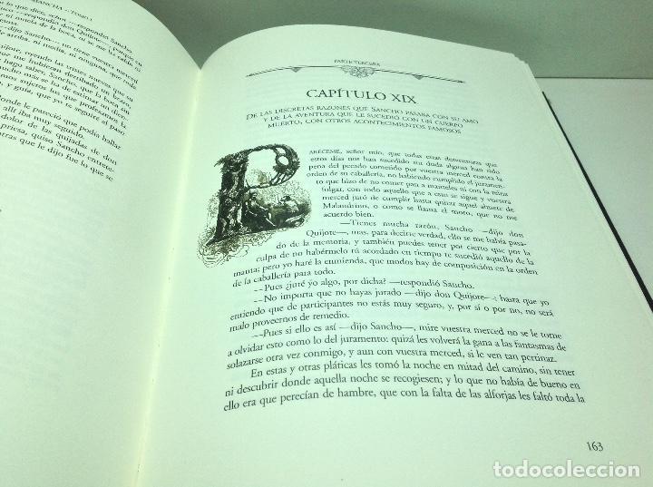 Libros de segunda mano: DON QUIJOTE DE LA MANCHA - EDICION ILUSTRADA POR DANIEL URRABIETA VIERGE 2° EDICION 2005 - Foto 3 - 105935547