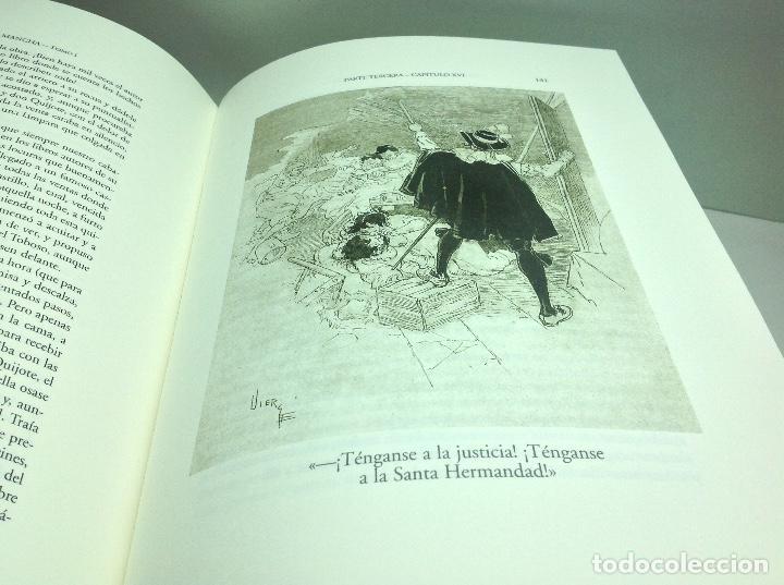 Libros de segunda mano: DON QUIJOTE DE LA MANCHA - EDICION ILUSTRADA POR DANIEL URRABIETA VIERGE 2° EDICION 2005 - Foto 4 - 105935547