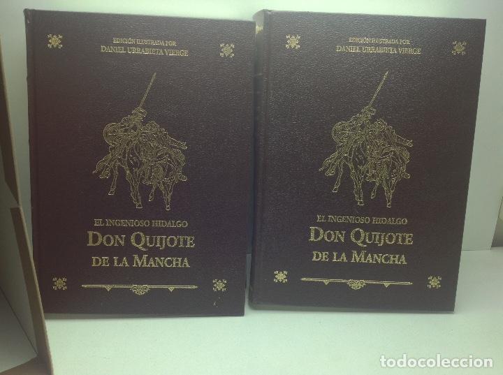 Libros de segunda mano: DON QUIJOTE DE LA MANCHA - EDICION ILUSTRADA POR DANIEL URRABIETA VIERGE 2° EDICION 2005 - Foto 6 - 105935547