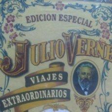 Libros de segunda mano: ROBUR EL CONQUISTADOR. JULIO VERNE. VIAJES EXTRAORDINARIOS. EDICIÓN ESPECIAL. CARTONÉ. PRECINTADO, S. Lote 106005627