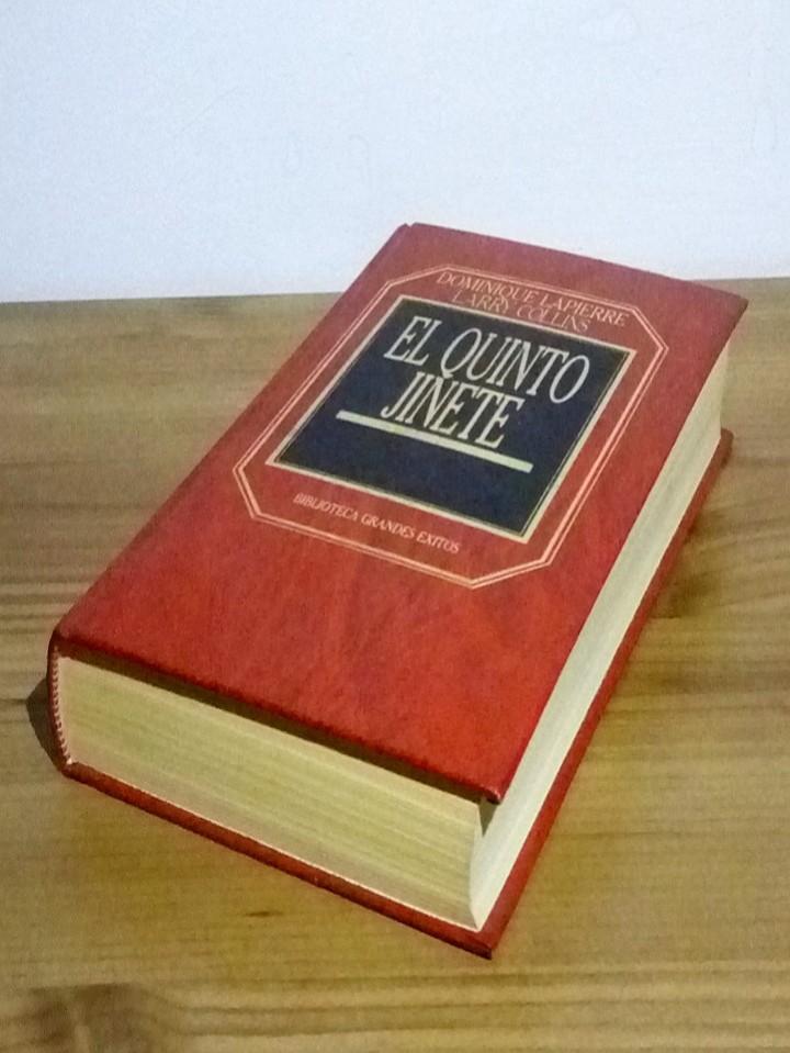 Libros de segunda mano: EL QUINTO JINETE, DOMINIQUE LAPIERRE Y LARRY COLLINS 1983 - Foto 6 - 102965579