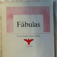 Libros de segunda mano: FÁBULAS - FÉLIX MARÍA SAMANIEGO - ED. PRISMA MÉXICO - VER INDICE. Lote 106621031