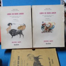 Libros de segunda mano: LIBRO DE BUEN AMOR. EDICIÓN MODERNIZADA, PRÓLOGO Y NOTAS DE NICASIO SALVADOR MIGUEL. ILUS O. ESTRUGA. Lote 106621535