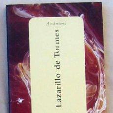 Libros de segunda mano: LAZARILLO DE TORMES - ANÓNIMO - ED. ESPASA 1998 - VER INDICE. Lote 106622199