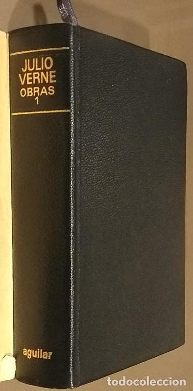 NOVELAS ESCOGIDAS. TOMO I. JULES VERNE. AGUILAR. TOLLE, LEGE. EL LINCE INQUIETO. 1968. RAREZA! (Libros de Segunda Mano (posteriores a 1936) - Literatura - Narrativa - Clásicos)