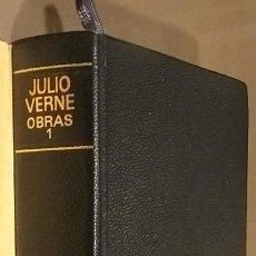 Libros de segunda mano: NOVELAS ESCOGIDAS. TOMO I. JULES VERNE. AGUILAR. TOLLE, LEGE. EL LINCE INQUIETO. 1968. RAREZA!. Lote 106646887