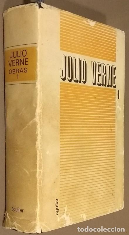 Libros de segunda mano: Novelas escogidas. Tomo I. Jules Verne. Aguilar. Tolle, Lege. El Lince Inquieto. 1968. Rareza! - Foto 3 - 106646887