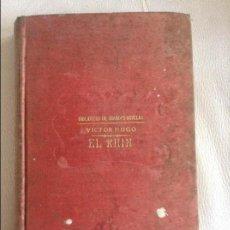 Libros de segunda mano: EL RHIN VICTOR HUGO. Lote 107035687