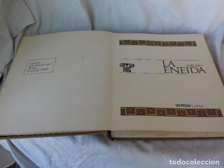 Libros de segunda mano: LA ENEIDA-VIRGILIO-EDITORIAL VERON-3ª EDICION 1971-ILUSTRADA-VER FOTOS - Foto 5 - 107297007