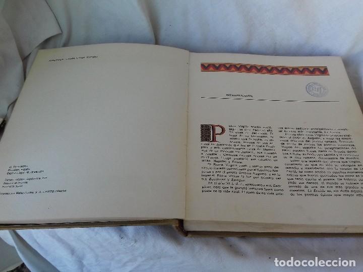 Libros de segunda mano: LA ENEIDA-VIRGILIO-EDITORIAL VERON-3ª EDICION 1971-ILUSTRADA-VER FOTOS - Foto 6 - 107297007