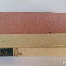 Libros de segunda mano: PLATERO Y YO-JUAN RAMON JIMENEZ-EDITORIAL AGUILAR CUARTA EDICION 1958. Lote 107298555