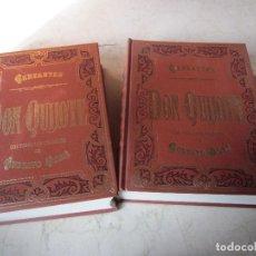 Libros de segunda mano: CERVANTES - DON QUIJOTE - TOMOS I Y II - CLUB INTERNACIONAL DEL LIBRO 1997. Lote 107389159