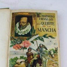 Libros de segunda mano: L-1897. DON QUIJOTE DE LA MANCHA, MIGUEL DE CERVANTES SAAVEDRA.BIBL. GRANDES NOVELAS. 1936.. Lote 107586903