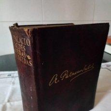 Libros de segunda mano: 18-ARMANDO PALACIO VALDES, ETERNAS AGUILAR, 1º EDICION DE 1933, DIFICIL. Lote 107657271