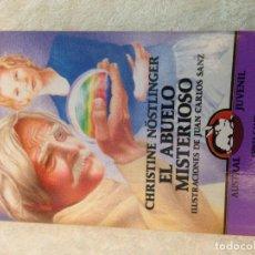 Livres d'occasion: CHRISTINE NÖSTLINGER EL ABUELO MISTERIOSO 1994 LIBRO ASTRAL JUVENIL KREATEN. Lote 107941511