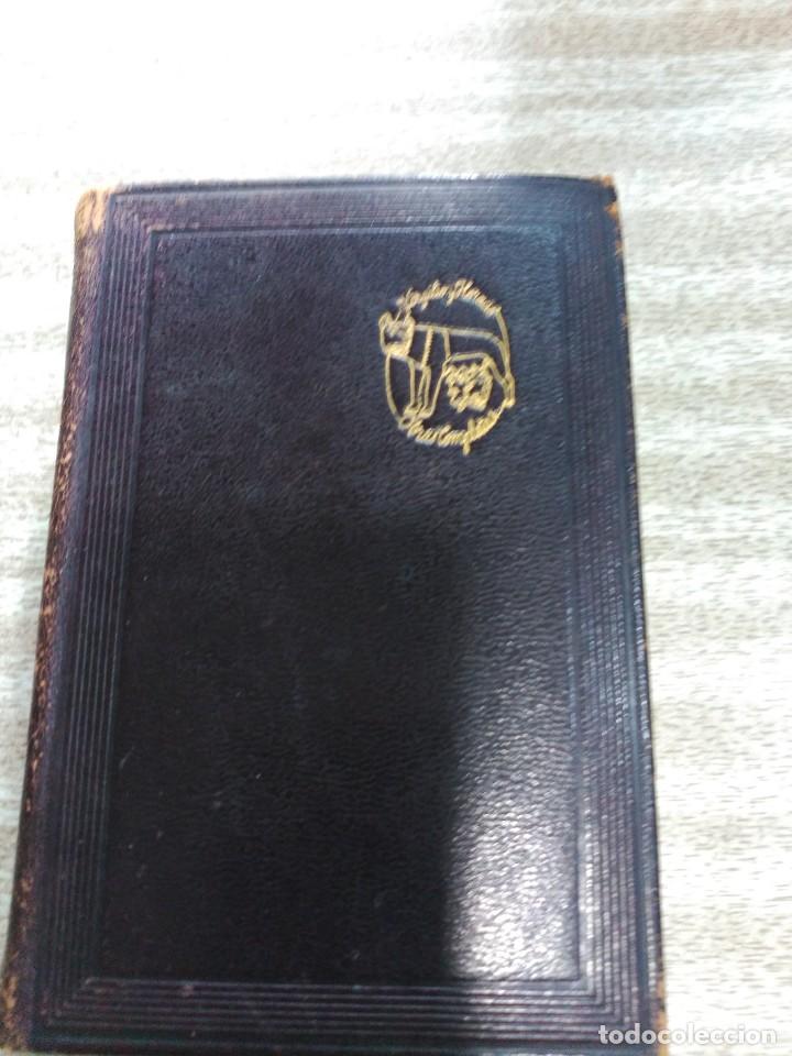VIRGILIO Y HORACIO, OBRAS COMPLETAS--M. AGUILAR-1ª EDICION 1941 (Libros de Segunda Mano (posteriores a 1936) - Literatura - Narrativa - Clásicos)