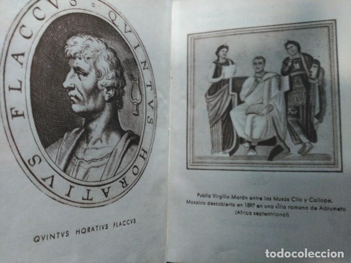 Libros de segunda mano: VIRGILIO Y HORACIO, OBRAS COMPLETAS--M. AGUILAR-1ª EDICION 1941 - Foto 3 - 190103823