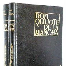 Libros de segunda mano: EL INGENIOSO HIDALGO DON QUIJOTE DE LA MANCHA (2 TOMOS). Lote 108285419