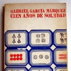 Livros em segunda mão: CIEN AÑOS DE SOLEDAD, DE GABRIEL GARCÍA MARQUEZ. EDICIÓN AÑO 1969. Lote 108329455