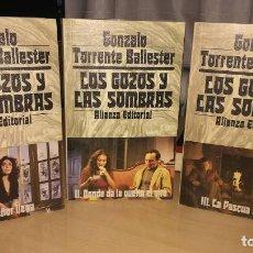 Libros de segunda mano: LOS GOZOS Y LAS SOMBRAS. GONZALO TORRENTE BALLESTER. ALIANZA. EDICION PARA LA CAIXA 1983. Lote 108333787