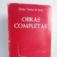 Libros de segunda mano: OBRAS COMPLETAS. SANTA TERESA DE JESUS. BIBLIOTECA DE AUTORES CRISTIANOS. 1979.. Lote 108442411