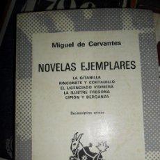 Libros de segunda mano: NOVELAS EJEMPLARES, MIGUEL DE CERVANTES, COLECCIÓN AUSTRAL. Lote 108833323