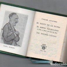 Libros de segunda mano: CARLOS ARNICHES : TRES SAINETES (AGUILAR CRISOL Nº 023, 1966) CRISOLIN. Lote 108907467