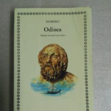 Libros de segunda mano: ODISEA, DE HOMERO. EDITORIAL CATEDRA LETRAS UNIVERSALES. Lote 109415879