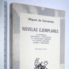 Libros de segunda mano: NOVELAS EJEMPLARES (MIGUEL DE CERVANTES) *** COLECCION AUSTRAL *** ESPASA CALPE. Lote 109999403
