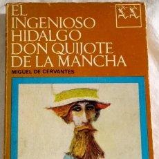 Libros de segunda mano: EL INGENIOSO HIDALGO DON QUIJOTE DE LA MANCHA; MIGUEL DE CERVANTES - SEIX BARRAL 1968. Lote 110104159