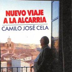 Libros de segunda mano: NUEVO VIAJE A LA ALCARRIA - CAMILO JOSE CELA. Lote 110593567