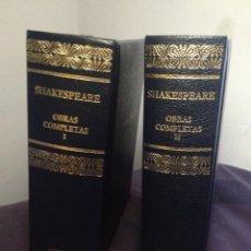Libros de segunda mano: OBRAS COMPLETAS WILLIAM SHAKESPEARE. TOMOS I Y II. AGUILAR 2003. Lote 130234950