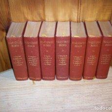 Libros de segunda mano: MAESTROS RUSOS . ED. PLANETA . 7 VOLÚMENES . 1ª EDICIÓNES. Lote 111886511