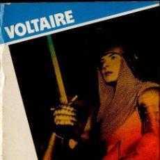 Libros de segunda mano: VOLTAIRE : LA DONCELLA (MUNDILIBRO, 1977). Lote 112102683