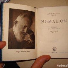 Libros de segunda mano: G.B.SHAW. PIGMALION. AGUILAR. CRISOL 8 BIS.. Lote 112324763
