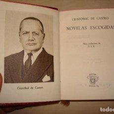 Libros de segunda mano: CRISTOBAL DE CASTRO. NOVELAS ESCOGIDAS. AGUILAR. CRISOL 83.. Lote 112325571
