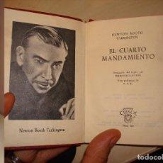 Libros de segunda mano: NEWTON BOOTH TARKINGTON. EL CUARTO MANDAMIENTO. AGUILAR. CRISOL 329.. Lote 112325779