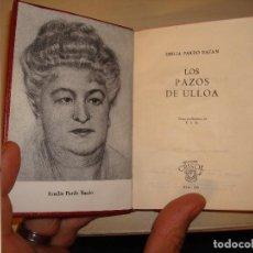 Libros de segunda mano: EMILIA PARDO BAZÁN. LOS PAZOS DE ULLOA. AGUILAR. CRISOL 255.. Lote 112325911