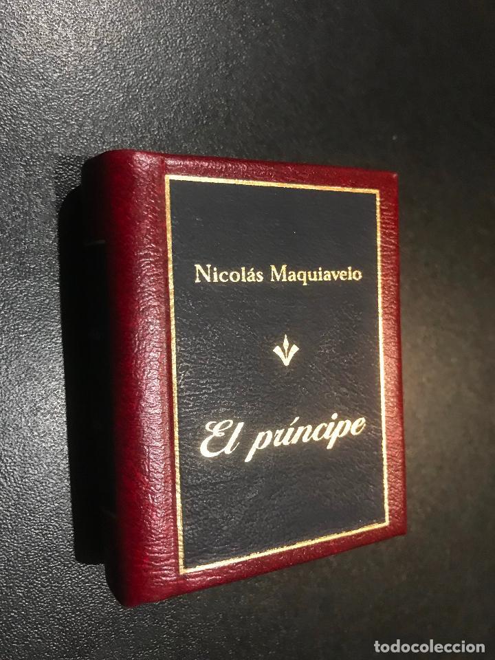 GRANDES OBRAS DE LA LITERATURA UNIVERSAL EN MINIATURA. NICOLAS MAQUIAVELO. EL PRINCIPE (Libros de Segunda Mano (posteriores a 1936) - Literatura - Narrativa - Clásicos)
