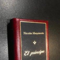 Libros de segunda mano: GRANDES OBRAS DE LA LITERATURA UNIVERSAL EN MINIATURA. NICOLAS MAQUIAVELO. EL PRINCIPE. Lote 112404035