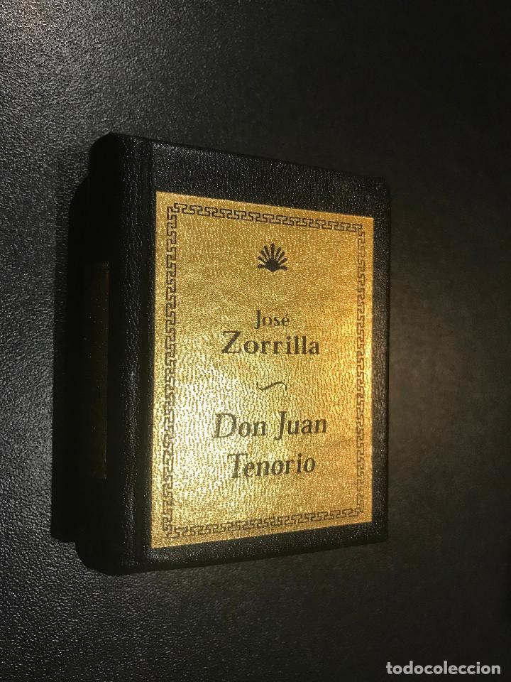 GRANDES OBRAS DE LA LITERATURA UNIVERSAL EN MINIATURA. JOSE ZORRILLA. DON JUAN TENORIO (Libros de Segunda Mano (posteriores a 1936) - Literatura - Narrativa - Clásicos)