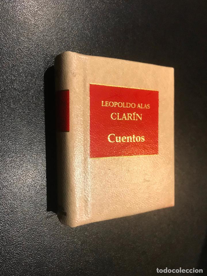 GRANDES OBRAS DE LA LITERATURA UNIVERSAL EN MINIATURA. LEOPOLDO ALAS CLARIN. CUENTOS (Libros de Segunda Mano (posteriores a 1936) - Literatura - Narrativa - Clásicos)