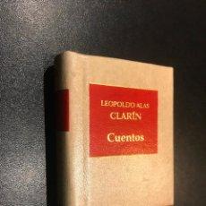 Libros de segunda mano: GRANDES OBRAS DE LA LITERATURA UNIVERSAL EN MINIATURA. LEOPOLDO ALAS CLARIN. CUENTOS. Lote 112404407