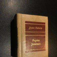 Libros de segunda mano: GRANDES OBRAS DE LA LITERATURA UNIVERSAL EN MINIATURA. JUAN VALERA. PEPITA JIMENEZ. Lote 112404483