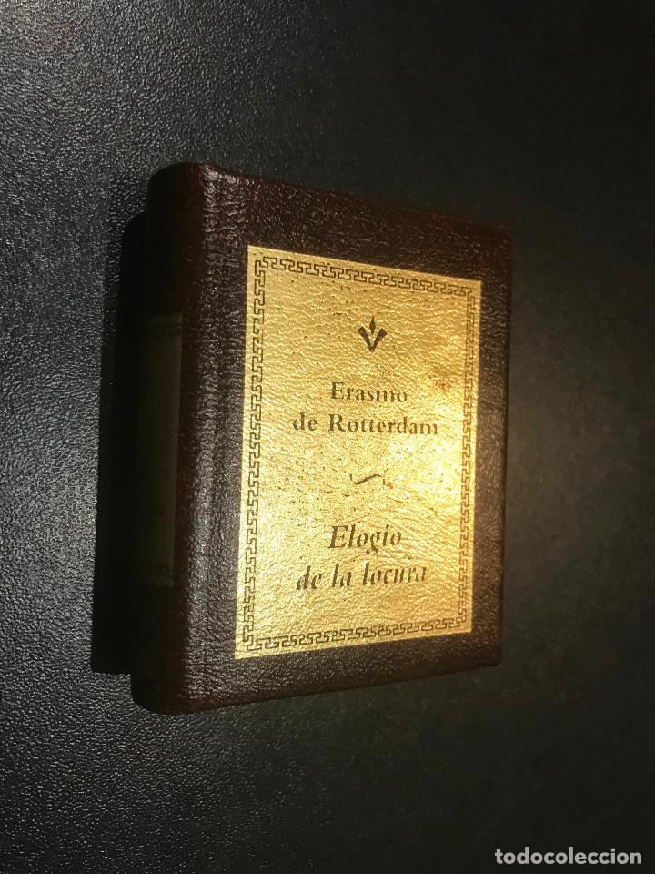GRANDES OBRAS DE LA LITERATURA UNIVERSAL EN MINIATURA. ERASMO DE ROTTERDAM. ELOGIO DE LA LOCURA (Libros de Segunda Mano (posteriores a 1936) - Literatura - Narrativa - Clásicos)