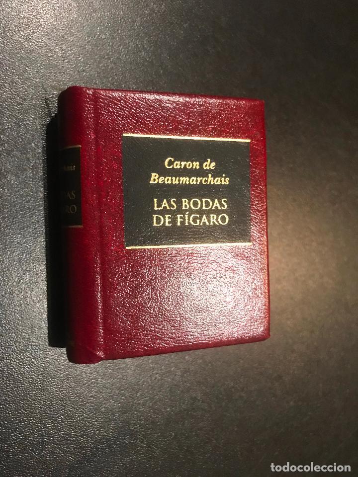 GRANDES OBRAS DE LA LITERATURA UNIVERSAL EN MINIATURA. CARON DE BEAUMARCHAIS. LAS BODAS DE FIGARO (Libros de Segunda Mano (posteriores a 1936) - Literatura - Narrativa - Clásicos)