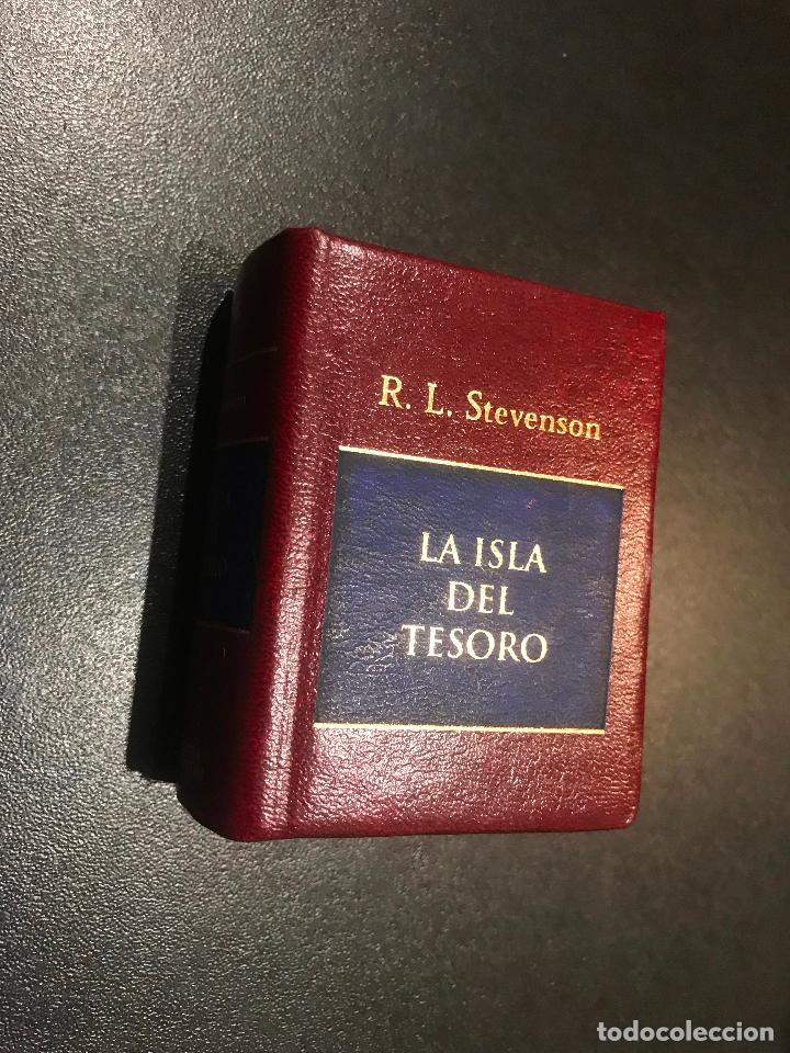 GRANDES OBRAS DE LA LITERATURA UNIVERSAL EN MINIATURA. R. L. STEVENSON. LA ISLA DEL TESORO (Libros de Segunda Mano (posteriores a 1936) - Literatura - Narrativa - Clásicos)