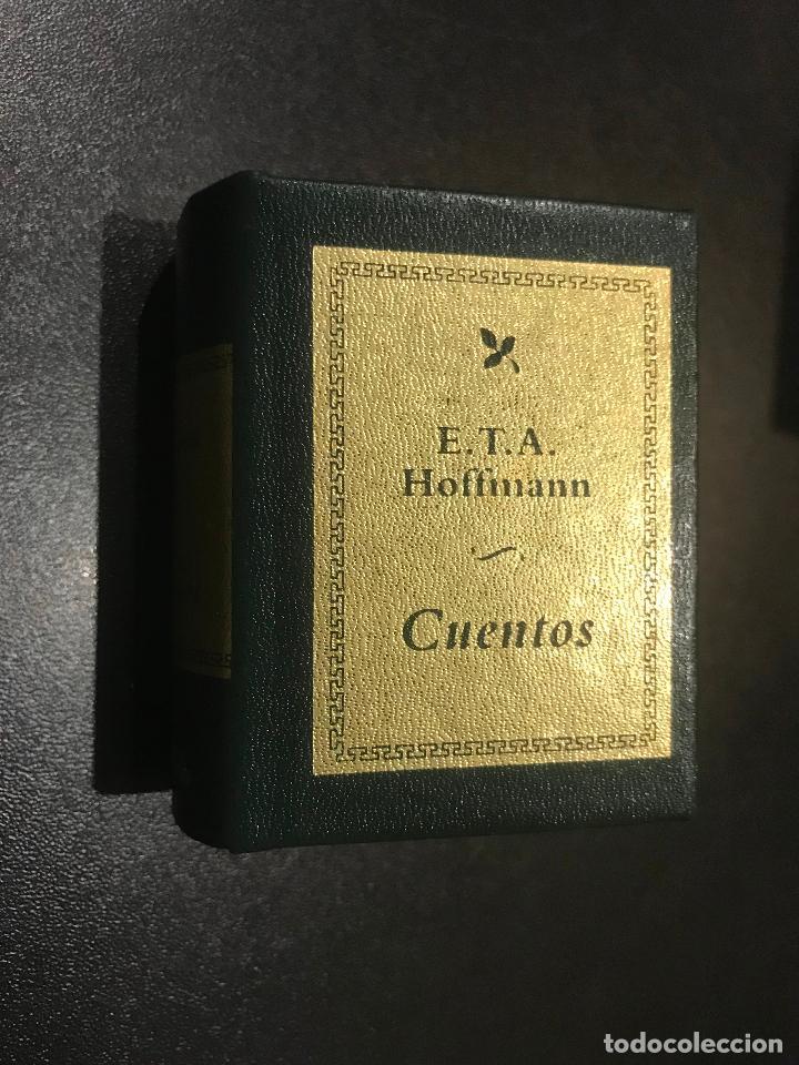 GRANDES OBRAS DE LA LITERATURA UNIVERSAL EN MINIATURA. E.T.A. HOFFMANN.. CUENTOS (Libros de Segunda Mano (posteriores a 1936) - Literatura - Narrativa - Clásicos)